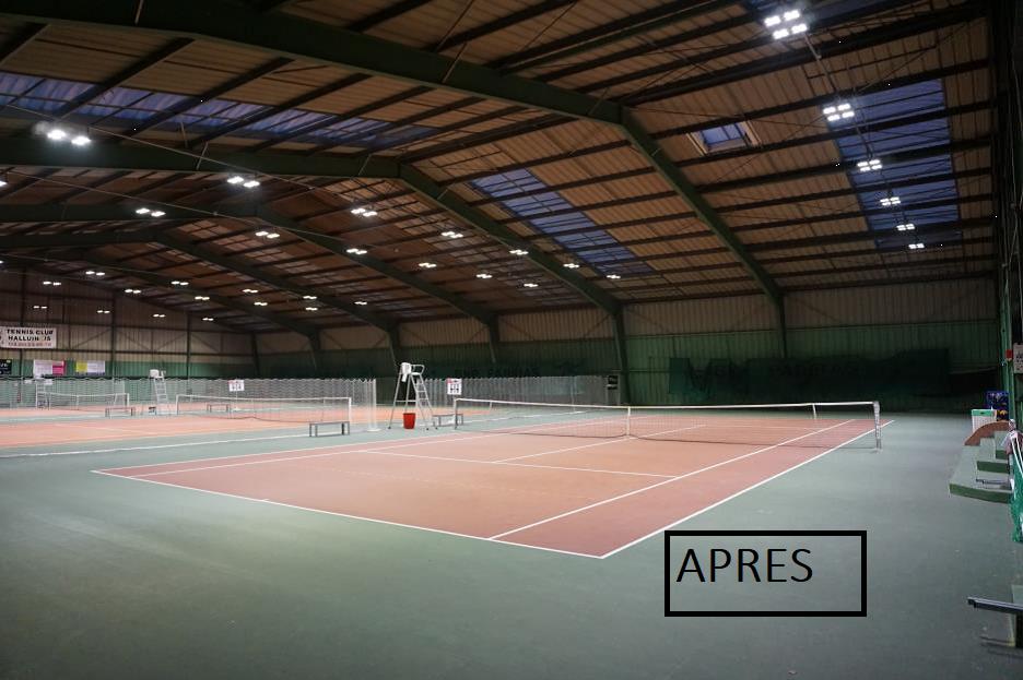 Salle de tennis - HALLUIN