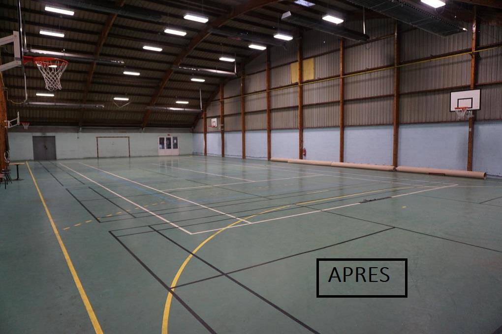 Salle de tennis de table - HALLUIN